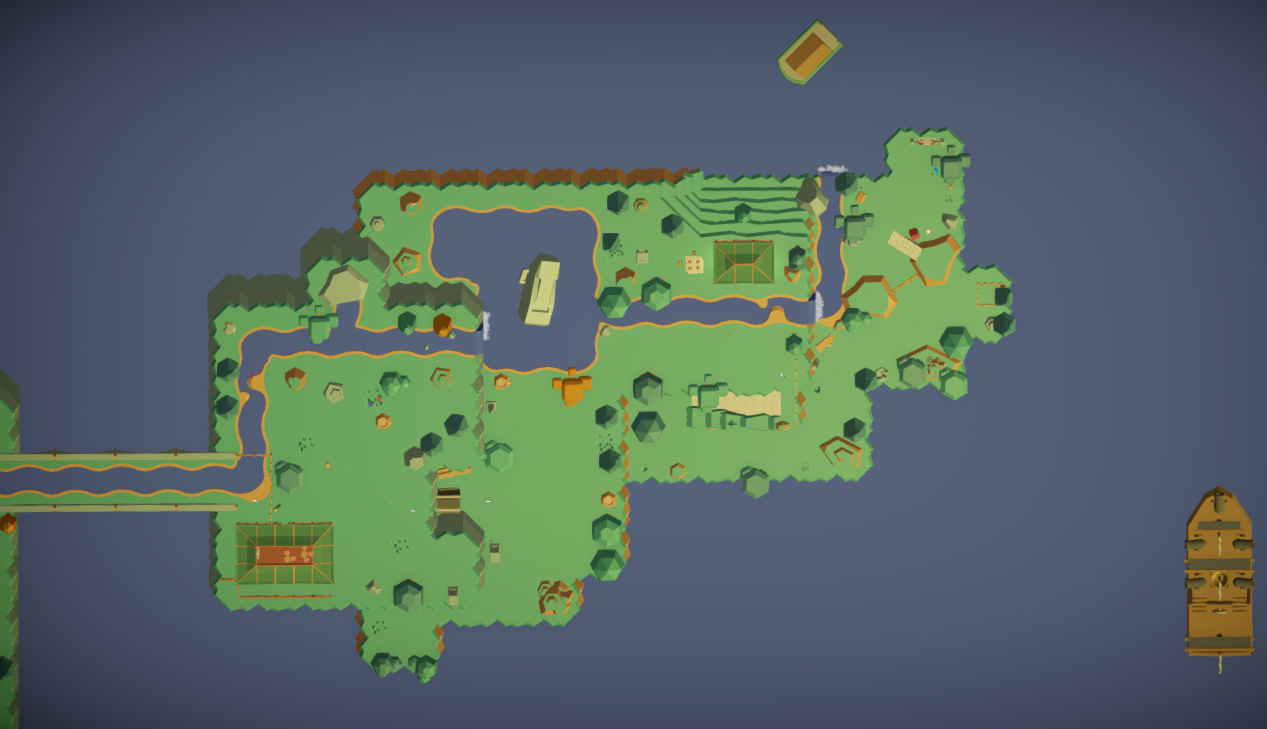 Level one overview map