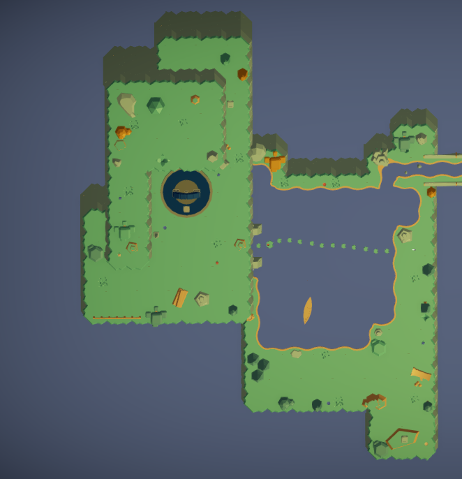 Level 1 overview map